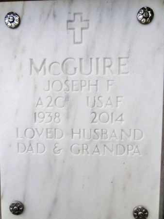 MCGUIRE, JOSEPH FREDERICK - Yavapai County, Arizona | JOSEPH FREDERICK MCGUIRE - Arizona Gravestone Photos
