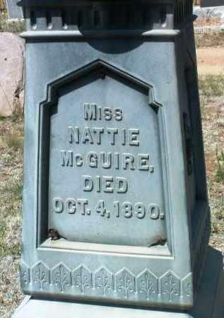 MCGUIRE, NATTIE - Yavapai County, Arizona | NATTIE MCGUIRE - Arizona Gravestone Photos