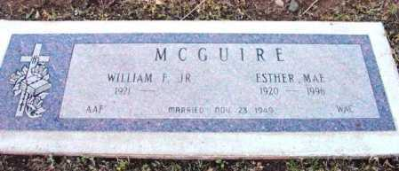 MCGUIRE, WILLIAM F., JR. - Yavapai County, Arizona | WILLIAM F., JR. MCGUIRE - Arizona Gravestone Photos