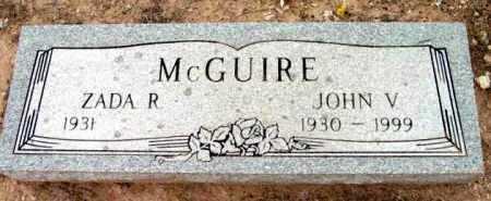 MCGUIRE, JOHN V. - Yavapai County, Arizona | JOHN V. MCGUIRE - Arizona Gravestone Photos