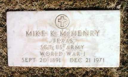 MCHENRY, MIKE K. - Yavapai County, Arizona | MIKE K. MCHENRY - Arizona Gravestone Photos