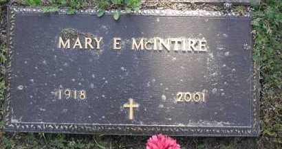 TOWNSEND MCINTIRE, MARY E. - Yavapai County, Arizona | MARY E. TOWNSEND MCINTIRE - Arizona Gravestone Photos