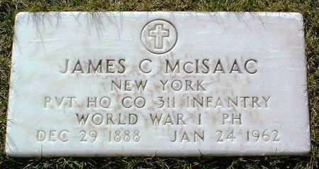 MCISAAC, JAMES C. - Yavapai County, Arizona | JAMES C. MCISAAC - Arizona Gravestone Photos