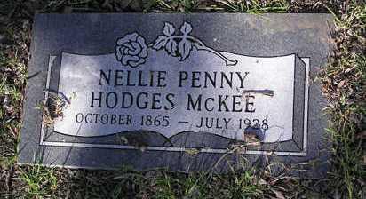 HODGES MCKEE, NELLIE P. - Yavapai County, Arizona | NELLIE P. HODGES MCKEE - Arizona Gravestone Photos