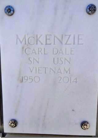 MCKENZIE, CARL DALE - Yavapai County, Arizona | CARL DALE MCKENZIE - Arizona Gravestone Photos