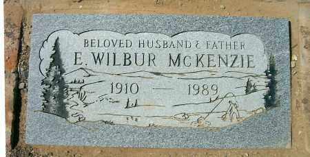 MCKENZIE, EDO WILBUR - Yavapai County, Arizona   EDO WILBUR MCKENZIE - Arizona Gravestone Photos