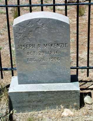 MCKENZIE, JOSEPH ROSS - Yavapai County, Arizona | JOSEPH ROSS MCKENZIE - Arizona Gravestone Photos