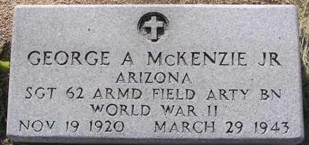 MCKENZIE, GEORGE A.,  JR. - Yavapai County, Arizona | GEORGE A.,  JR. MCKENZIE - Arizona Gravestone Photos