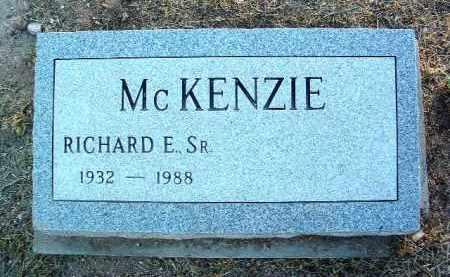 MCKENZIE, RICHARD EARL, SR. - Yavapai County, Arizona | RICHARD EARL, SR. MCKENZIE - Arizona Gravestone Photos