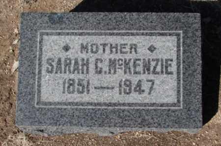 MCKENZIE, SARAH CATHERINE - Yavapai County, Arizona   SARAH CATHERINE MCKENZIE - Arizona Gravestone Photos