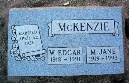 MCKENZIE, MINERVA JANE - Yavapai County, Arizona   MINERVA JANE MCKENZIE - Arizona Gravestone Photos