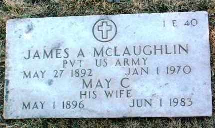 MCLAUGHLIN, JAMES A. - Yavapai County, Arizona | JAMES A. MCLAUGHLIN - Arizona Gravestone Photos