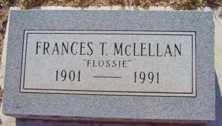 MCLELLAN, FRANCES PARLEE  - Yavapai County, Arizona | FRANCES PARLEE  MCLELLAN - Arizona Gravestone Photos