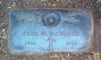 MCMAHON, FRED MARSHALL - Yavapai County, Arizona   FRED MARSHALL MCMAHON - Arizona Gravestone Photos