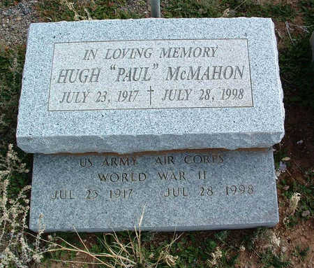 MCMAHON, HUGH PAUL - Yavapai County, Arizona | HUGH PAUL MCMAHON - Arizona Gravestone Photos