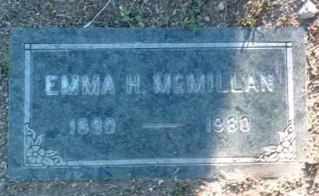 JOHNSON MCMILLAN, EMMA HENRIETTA - Yavapai County, Arizona | EMMA HENRIETTA JOHNSON MCMILLAN - Arizona Gravestone Photos