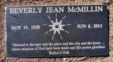 BEARDSLEY MCMILLIN, BEVERLY JEAN - Yavapai County, Arizona | BEVERLY JEAN BEARDSLEY MCMILLIN - Arizona Gravestone Photos