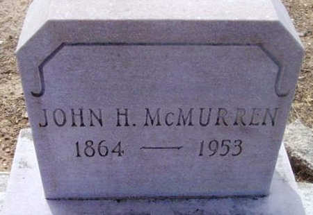 MCMURREN, JOHN HENDERSON - Yavapai County, Arizona   JOHN HENDERSON MCMURREN - Arizona Gravestone Photos