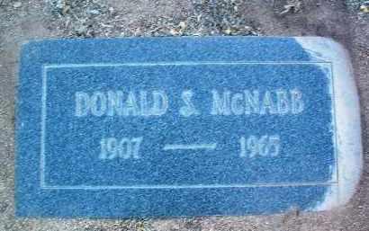 MCNABB, DONALD S. - Yavapai County, Arizona | DONALD S. MCNABB - Arizona Gravestone Photos