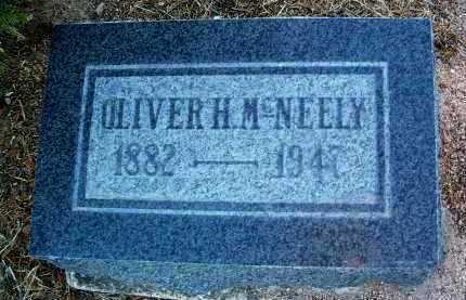 MCNEELY, OLIVER HOLBERT - Yavapai County, Arizona   OLIVER HOLBERT MCNEELY - Arizona Gravestone Photos