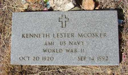 MCOSKER, KENNETH LESTER - Yavapai County, Arizona | KENNETH LESTER MCOSKER - Arizona Gravestone Photos
