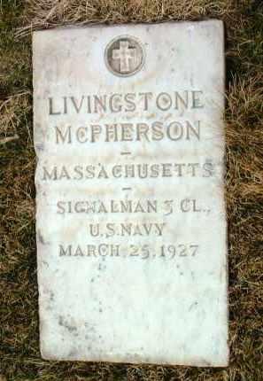 MCPHERSON, LIVINGSTONE - Yavapai County, Arizona   LIVINGSTONE MCPHERSON - Arizona Gravestone Photos