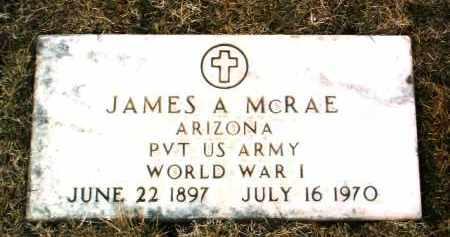 MCRAE, JAMES ALBERT - Yavapai County, Arizona | JAMES ALBERT MCRAE - Arizona Gravestone Photos