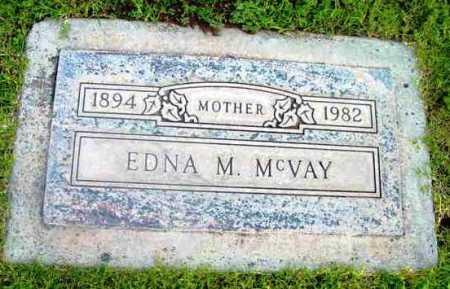 MCVAY, EDNA M. - Yavapai County, Arizona | EDNA M. MCVAY - Arizona Gravestone Photos