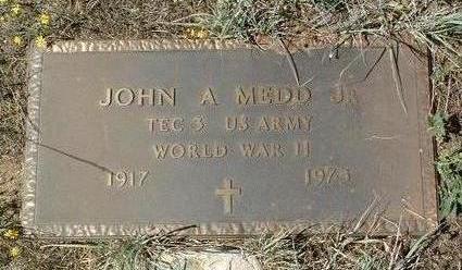 MEDD, JOHN A., JR. - Yavapai County, Arizona | JOHN A., JR. MEDD - Arizona Gravestone Photos