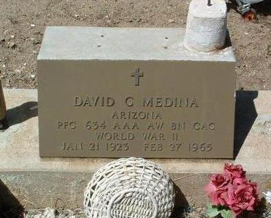 MEDINA, DAVID C. - Yavapai County, Arizona | DAVID C. MEDINA - Arizona Gravestone Photos