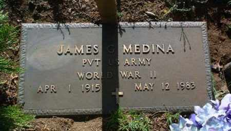 MEDINA, JAMES G. - Yavapai County, Arizona | JAMES G. MEDINA - Arizona Gravestone Photos
