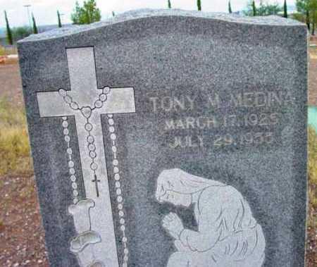 MEDINA, TONY M. - Yavapai County, Arizona | TONY M. MEDINA - Arizona Gravestone Photos