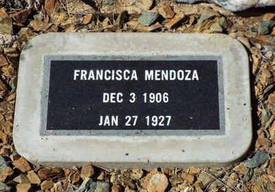 VENEGAS MENDOZA, FRANCISCA - Yavapai County, Arizona | FRANCISCA VENEGAS MENDOZA - Arizona Gravestone Photos