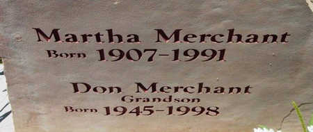 MERCHANT, MARTHA - Yavapai County, Arizona   MARTHA MERCHANT - Arizona Gravestone Photos