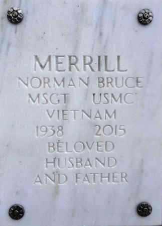 MERRILL, NORMAN BRUCE - Yavapai County, Arizona   NORMAN BRUCE MERRILL - Arizona Gravestone Photos