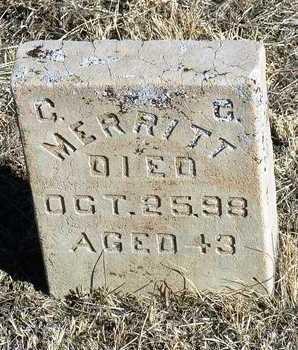 MERRITT, CHARLES C. - Yavapai County, Arizona | CHARLES C. MERRITT - Arizona Gravestone Photos