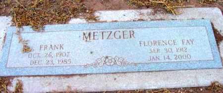 METZGER, FRANK - Yavapai County, Arizona | FRANK METZGER - Arizona Gravestone Photos