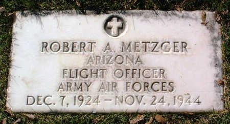 METZGER, ROBERT ARTHUR - Yavapai County, Arizona | ROBERT ARTHUR METZGER - Arizona Gravestone Photos