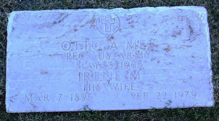 MEY, IRENE  MARY - Yavapai County, Arizona | IRENE  MARY MEY - Arizona Gravestone Photos