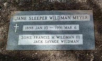 WILDMAN, JANE ELLEN - Yavapai County, Arizona | JANE ELLEN WILDMAN - Arizona Gravestone Photos