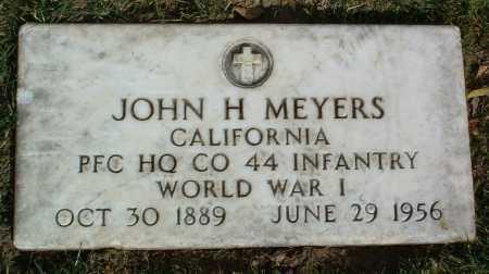MEYERS, JOHN HARRISON - Yavapai County, Arizona | JOHN HARRISON MEYERS - Arizona Gravestone Photos