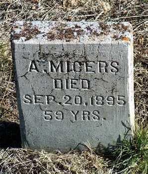 MICERS, A. - Yavapai County, Arizona | A. MICERS - Arizona Gravestone Photos
