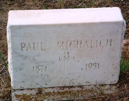 MICHALICH, PAUL - Yavapai County, Arizona   PAUL MICHALICH - Arizona Gravestone Photos