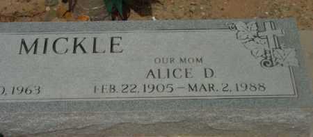 TREMBLAY MICKLE, ALICE DORIS - Yavapai County, Arizona   ALICE DORIS TREMBLAY MICKLE - Arizona Gravestone Photos