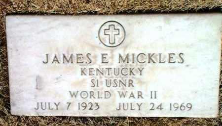 MICKLES, JAMES ERNEST - Yavapai County, Arizona | JAMES ERNEST MICKLES - Arizona Gravestone Photos