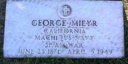 MIEYR, GEORGE - Yavapai County, Arizona | GEORGE MIEYR - Arizona Gravestone Photos