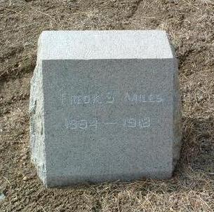MILES, FREDERICK S. - Yavapai County, Arizona   FREDERICK S. MILES - Arizona Gravestone Photos