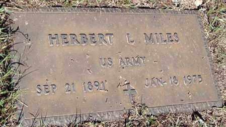 MILES, HERBERT LEWIS - Yavapai County, Arizona   HERBERT LEWIS MILES - Arizona Gravestone Photos