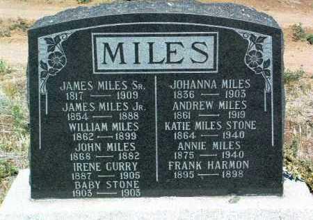 MILES, JAMES HICKSON - Yavapai County, Arizona   JAMES HICKSON MILES - Arizona Gravestone Photos