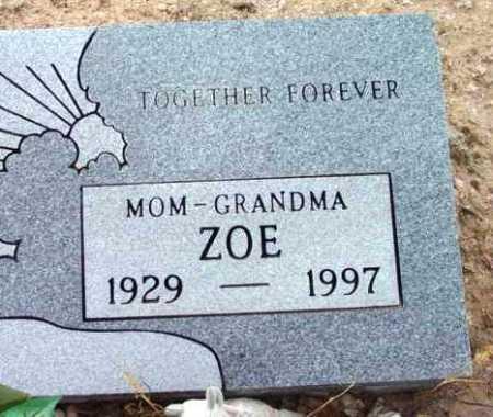 MILES, ZOELTA (ZOE) - Yavapai County, Arizona   ZOELTA (ZOE) MILES - Arizona Gravestone Photos